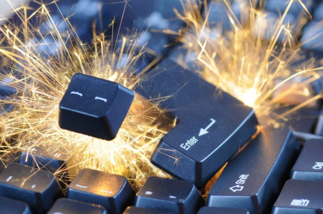 Sparking keyboard