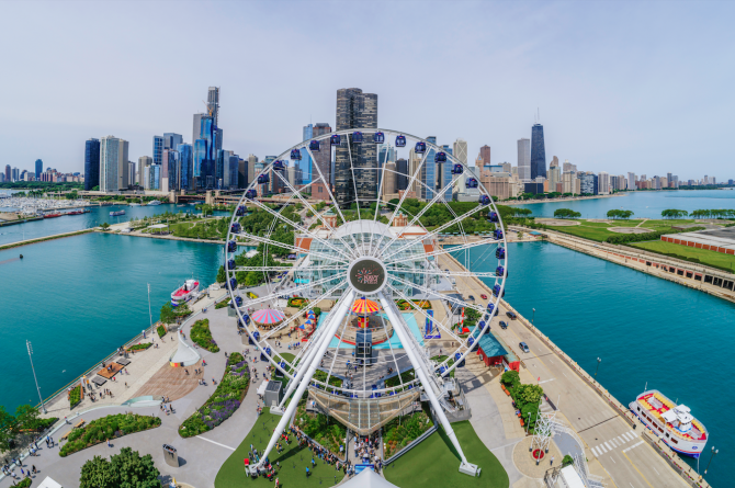 Navy Pier Wheel Hero